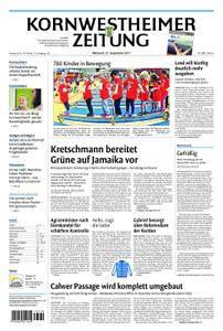 Kornwestheimer Zeitung - 27. September 2017