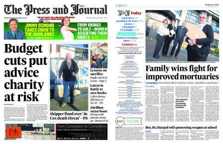 The Press and Journal Moray – February 08, 2018