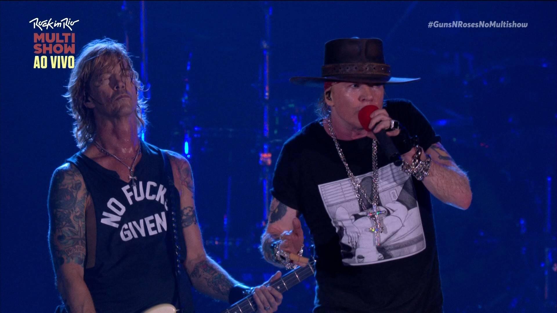 Guns N' Roses - Rock in                                                    Rio (2017) [HDTV 1080i]