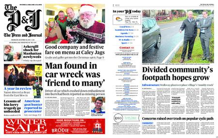 The Press and Journal Moray – December 26, 2018
