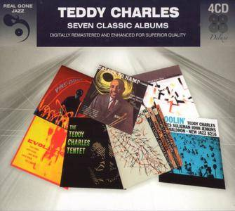 Teddy Charles - Seven Classic Albums (2017) {4CD Set Real Gone Jazz RGJCD532 rec 1956-1959}
