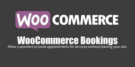 WooCommerce - Bookings v1.10.6