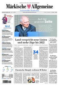 Märkische Allgemeine Luckenwalder Rundschau - 24. Oktober 2017