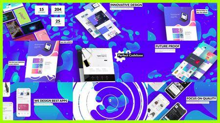 Dynamic Website / Agency Presentation - Project for After Effects (VideoHive)
