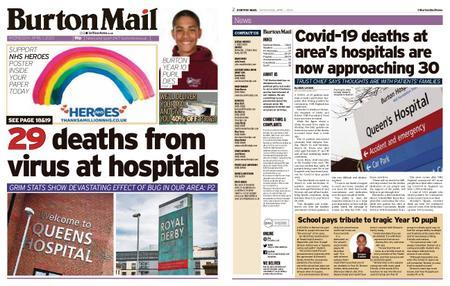 Burton Mail – April 01, 2020