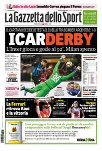La Gazzetta dello Sport – 22 ottobre 2018