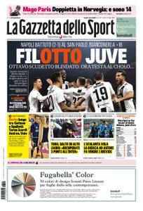 La Gazzetta dello Sport – 04 marzo 2019