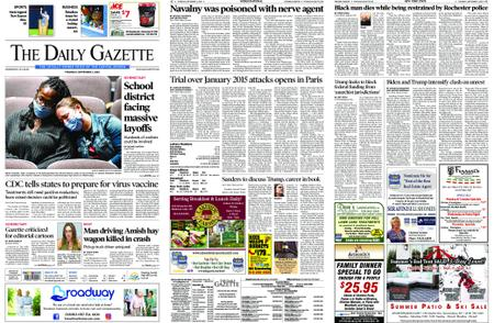 The Daily Gazette – September 03, 2020