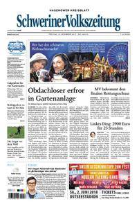Schweriner Volkszeitung Hagenower Kreisblatt - 15. Dezember 2017