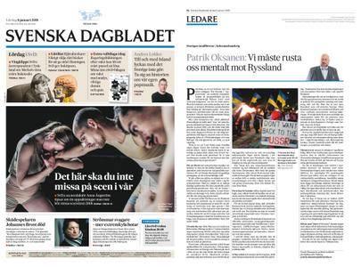 Svenska Dagbladet – 06 januari 2018