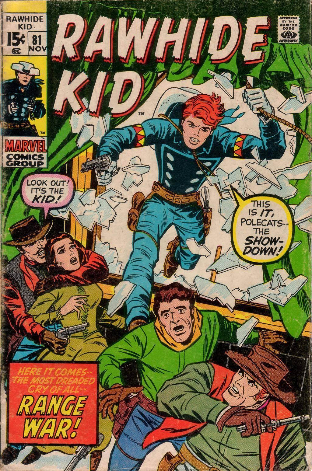 Rawhide Kid v1 081 1970