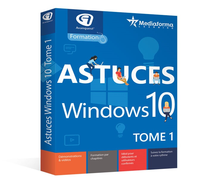 Avanquest Formation Windows 10 Tips - Volume 1/2/3/4