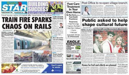 Shropshire Star Shrewsbury Edition – November 07, 2017