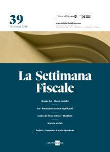 Il Sole 24 Ore La Settimana Fiscale - 19 Ottobre 2018