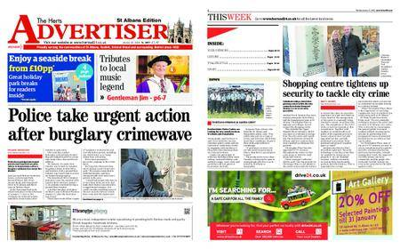 The Herts Advertiser – January 25, 2018