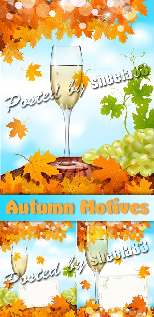 Autumn Motives Vector