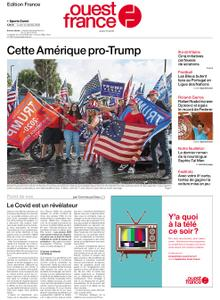 Ouest-France Édition France – 12 octobre 2020