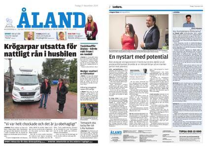 Ålandstidningen – 17 december 2019