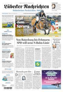 Lübecker Nachrichten Ostholstein Süd - 25. Oktober 2017