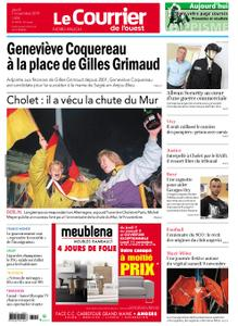 Le Courrier de l'Ouest Nord Anjou – 07 novembre 2019