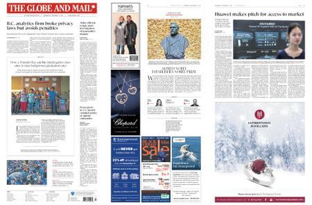 The Globe and Mail – November 27, 2019