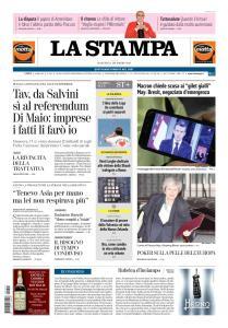 La Stampa Torino Provincia e Canavese - 11 Dicembre 2018