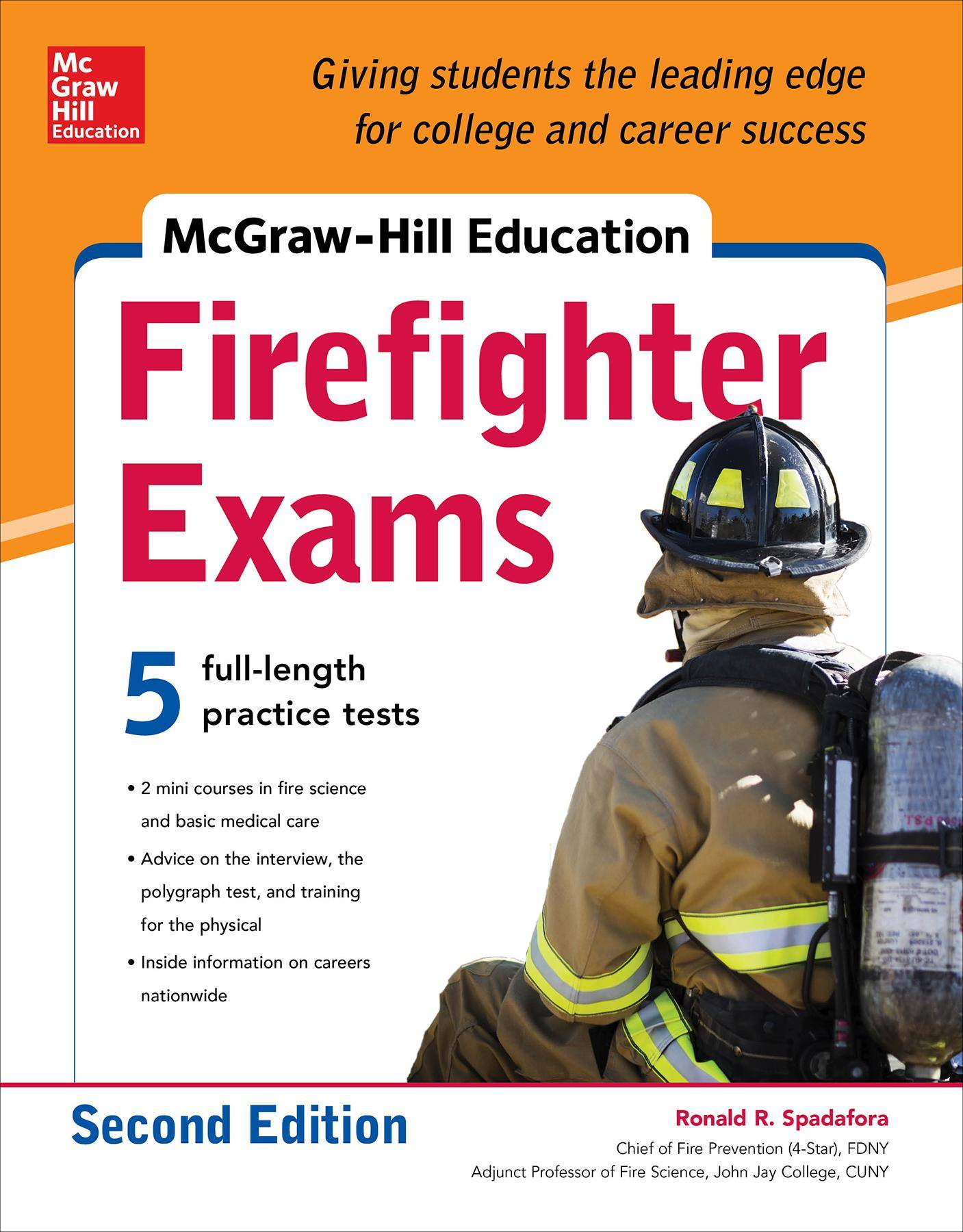 McGraw-Hill Education Firefighter Exam, 2nd Edition