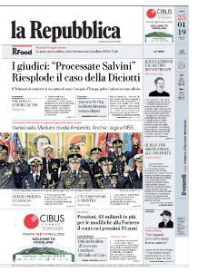la Repubblica - 25 Gennaio 2019