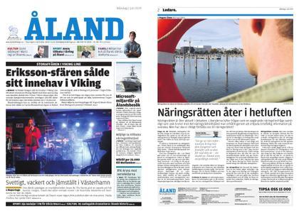 Ålandstidningen – 01 juli 2019