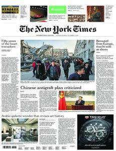 International New York Times - 02 December 2017
