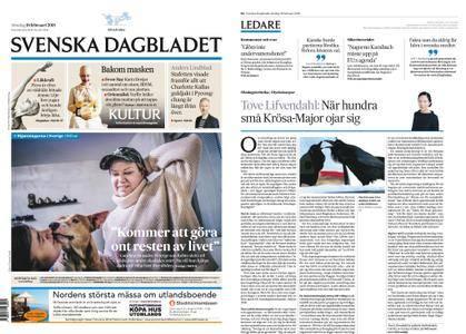 Svenska Dagbladet – 18 februari 2018