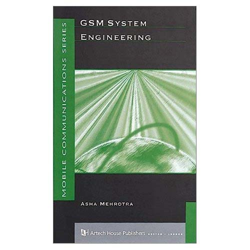 GSM System Engineering (Repost)