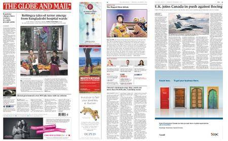 The Globe and Mail – September 13, 2017