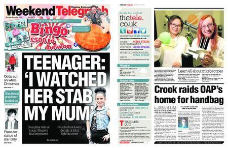 Evening Telegraph First Edition – December 02, 2017