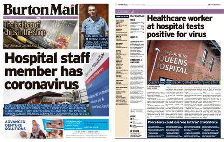 Burton Mail – March 17, 2020