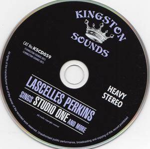 Lascelles Perkins - Sings Studio One And More (1970) {Kingston Sounds Records KSCD059 - 2016 Reissue}