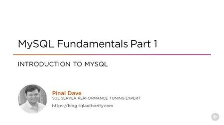 MySQL Fundamentals (2020)