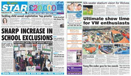 Shropshire Star Shrewsbury Edition – March 12, 2018