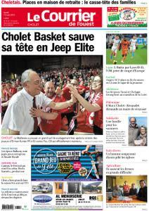 Le Courrier de l'Ouest Cholet – 13 mai 2019