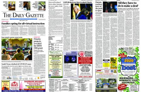 The Daily Gazette – August 14, 2020