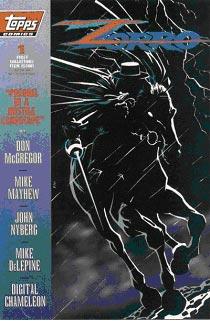 Zorro Comics from Topps Comics