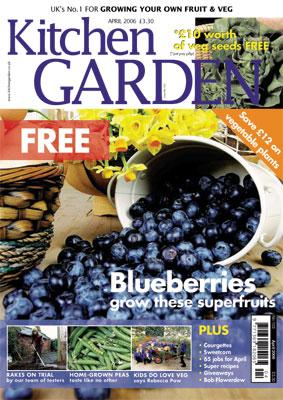 Kitchen Garden Magazine April 2006