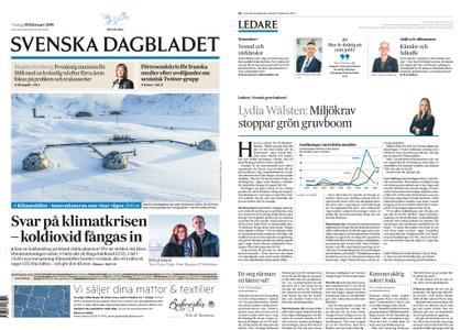 Svenska Dagbladet – 19 februari 2019