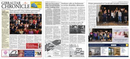 Gibraltar Chronicle – 08 January 2020
