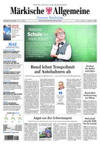 Märkische Allgemeine Zossener Rundschau - 29. Januar 2019