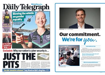 The Daily Telegraph (Sydney) – February 20, 2019