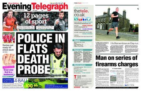 Evening Telegraph First Edition – October 13, 2017