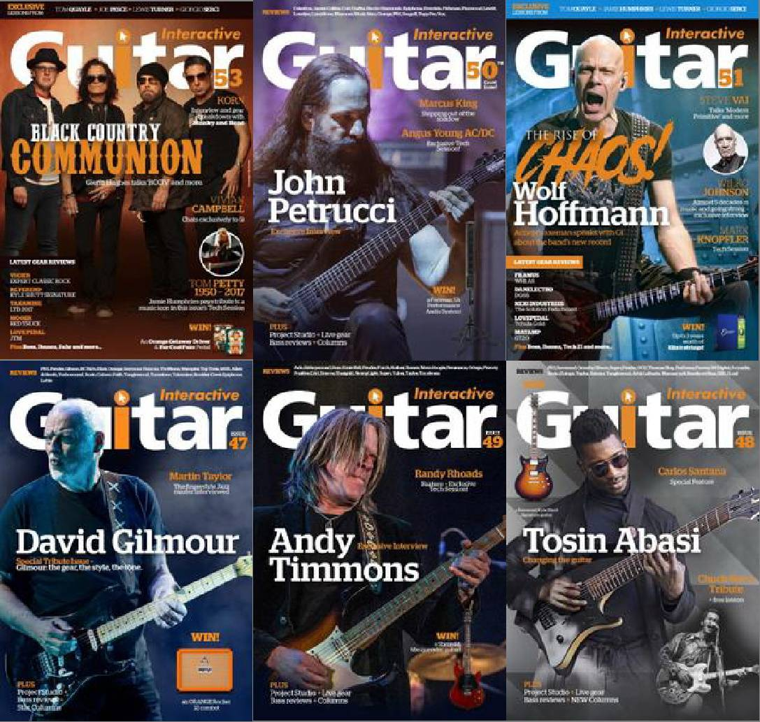 Guitar Interactive - Full Year 2017 Collection