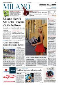 Corriere della Sera Milano – 22 settembre 2020