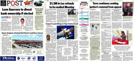 The Guam Daily Post – October 13, 2018